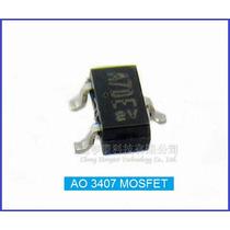 Mosfet Ao3407 Smd 30v 3,5a 1,4w Sot23 1 Pct C/ 3 Peças
