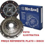 Plato+ Disco Embreagem Gm Vectra 2.0 8v/16v Apos 99 D:216