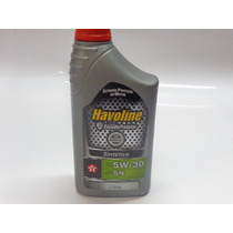Oleo De Motor Havoline Sae 5w30 100% Sintético