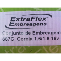 Kit De Embreagem Toyota Corolla 1.6/1.8 2002 Até 2008