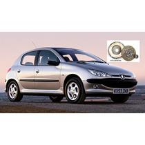 Kit Embreagem Peugeot 206 1.0 8v / 1.0 16v 1999 A 2007 Rec