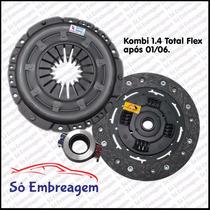 Kit De Embreagem Kombi 1.4 Flex (platô+disco+rolamento)