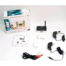 Transmissor De Audio Sem Fio Logitech Para Mp3 E Ipod