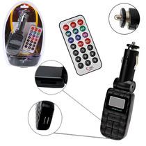 Transmissor Mp3 Fm Veicular Cartao Sd Pen Drive Art Sound