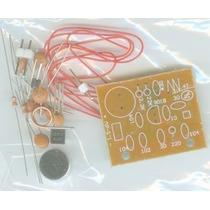 Kit Didático Para Montar Transmissor De Fm Transistor 9018