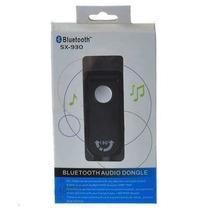 Transmissor Audio Bluetooth Stereo Híbrido C/ Plug P2 3.5mm