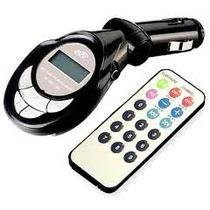 Transmissor Fm Veicular Mp3 Mp4 Pen Drive Usb Sd Embalagem