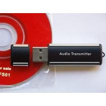 Transmissor Fm Usb Computador Laptop Notebook Desktop