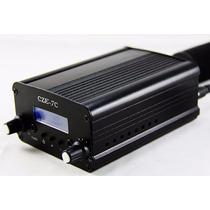 Transmissor Rádio Fm Estéreo Digital Pll 7watts Completo