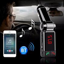 Fm Trasmissor Bluetooth Kit Mãos Livres 1 Linha
