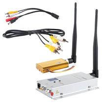 1.2ghz 1500mw Transmissor Receptor Sem Fio Câmera Tv Vcd Dvd