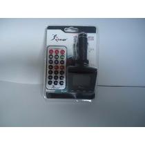 Tocador Fm Veicular Mp3 Player 5 Em 1 Sd/mmc/tf,usb