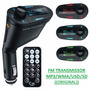 Transmissor Fm Mp3 Wma Veicular Usb/sd Wireless Top Lcd