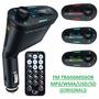 Transmissor Fm Mp3 Wma Veicular Usb/sd Wireless Top Lcd