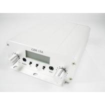 Transmissor Rádio Fm Pll Stereo Digital 15w - Pronta Entrega