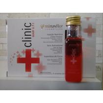 Clinic Hair Minas Flor Caixa Com 6 Ampolas De 20ml + Brinde