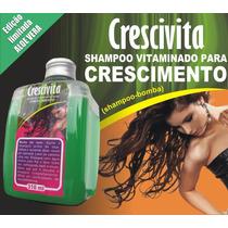 Shampoo Bomba Sem Monovim! Novidade! Crescimento Até 6cm Mês