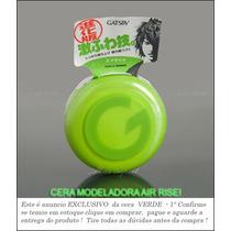 Gatsby Verde Cera Modeladora Cabelos Air Rise Japan * Brz