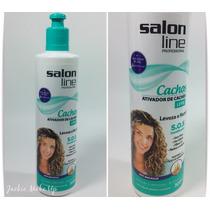 Ativador De Cachos Salon Line S.o.s 300g Leve