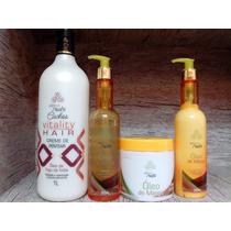 Creme De Pentear Trate Cachos Vitality Hair (óleo De Figo)1l