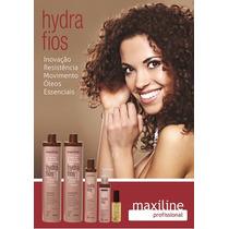 Maxiline Kit Hydrafios Profissional ( 5 Produtos) + Brinde