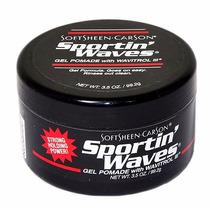 Sportin Waves Gel Pomada Penteado Especial Ondulação Cabelo