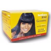 Promoção Creme Alisa &relaxa Para Cabelos Médios Salon Line