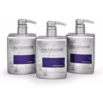 Dicolore Matizador Blonde Shampoo+cond+acidificante+brinde!!