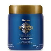 Creme Relaxante Gold Black 500g Amend