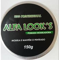 Pomada Modeladora Alfa Looks 150g Profissional