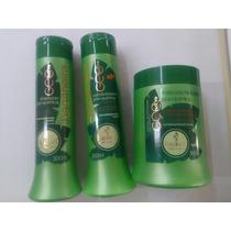 Kit Shampoo + Condicionador+ Máscara Haskell Bananeira