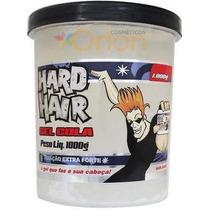 Gel Cola Sem Álcool 1kg Hard Hair
