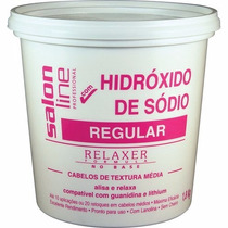 Creme Relaxante Salon Line Sódio Regular 1800g- Profissional