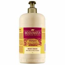Shampoo Tutano E Ceramidas Bioextratus 1 Litro C/ Válvula