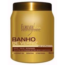 Forever Liss Banho De Verniz - 1kg Pronta Entrega + 1 Brinde