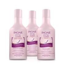 Inoar -kit Pós Progress 250ml (shamp+ Cond+leave-in)