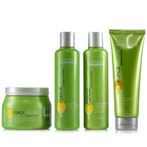 Loréal Force Relax Kit Home Pós Relaxamento Nutri-control 4