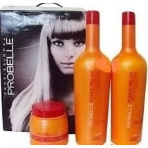 Kit Force Relax Probelle!!! Profissional 1 Litro Promoção!!!