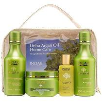 Inoar Argan Oil Home Care Kit -frete Grátis + Nota Fiscal