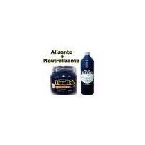 Creme Alisante Prof Lisahair 550g + Neutralizante 500ml