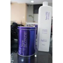 Combo K.pro Descolorante New Blond 400g + Oxidante 900ml