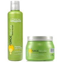 Loreal Force Relax Mascara 500g+ Shampoo 300ml Nutri Control