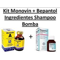 Promoção: Monovin A + Bepantol Solução Para Shampoo Bomba