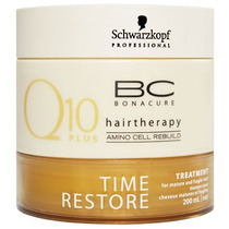 Schwarzkopf Bonacure Q10 Time Restore Treatment Máscara Trat
