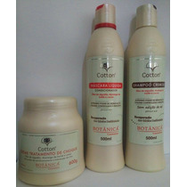 Kit Tratamento Botânica Cotton Manutenção Hidratação Brilho