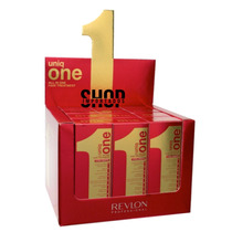 12 Uniq One Revlon Hair Treatment 10 Em 1 - Na Caixa Display