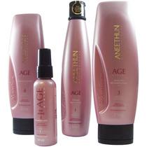 Aneethun Kit Age System Completo 4 Produtos