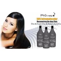Reconstrução Capilar Infinita Cosmeticos Pró Help 3x1000 Ml