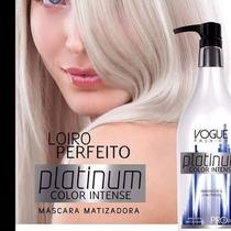 Matizador Platinum Color Intense Vogue Fashion 500gr Loiras