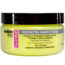 Salon Line Professional Pomada Keratin Hair Food Nutrition